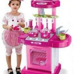 kitchen koper pink new