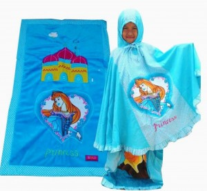 mukena princess biru topi copy