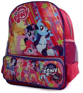 tas little pony tk depan