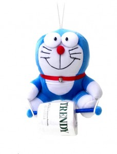 tissue gulung 2 in 1 doraemon