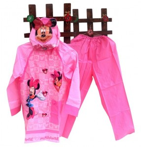Jas Hujan Minnie Mouse Celana