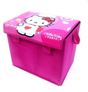 toys box hello kitty pink rz