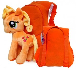 tas little pony coklat
