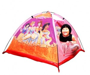 tenda anak  princess pink