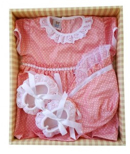baju bayi set dusty RZ