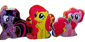 bantal littel pony 3 kuda