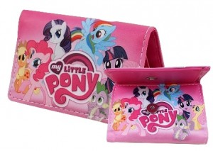 dompet little pony pendek pink
