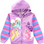 jaket little pony ungu