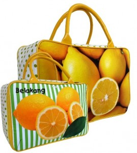 tas travel kanvas lemon arz