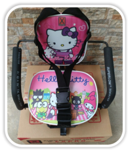 Kursi Bonceng Anak Hello Kitty